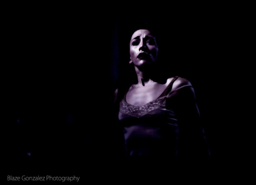 """Brigette Cormier in the premier of """"JOAN: The Ballet"""" at the Rift Blackbox Theater Photo and Edit by blaze gonzalez"""